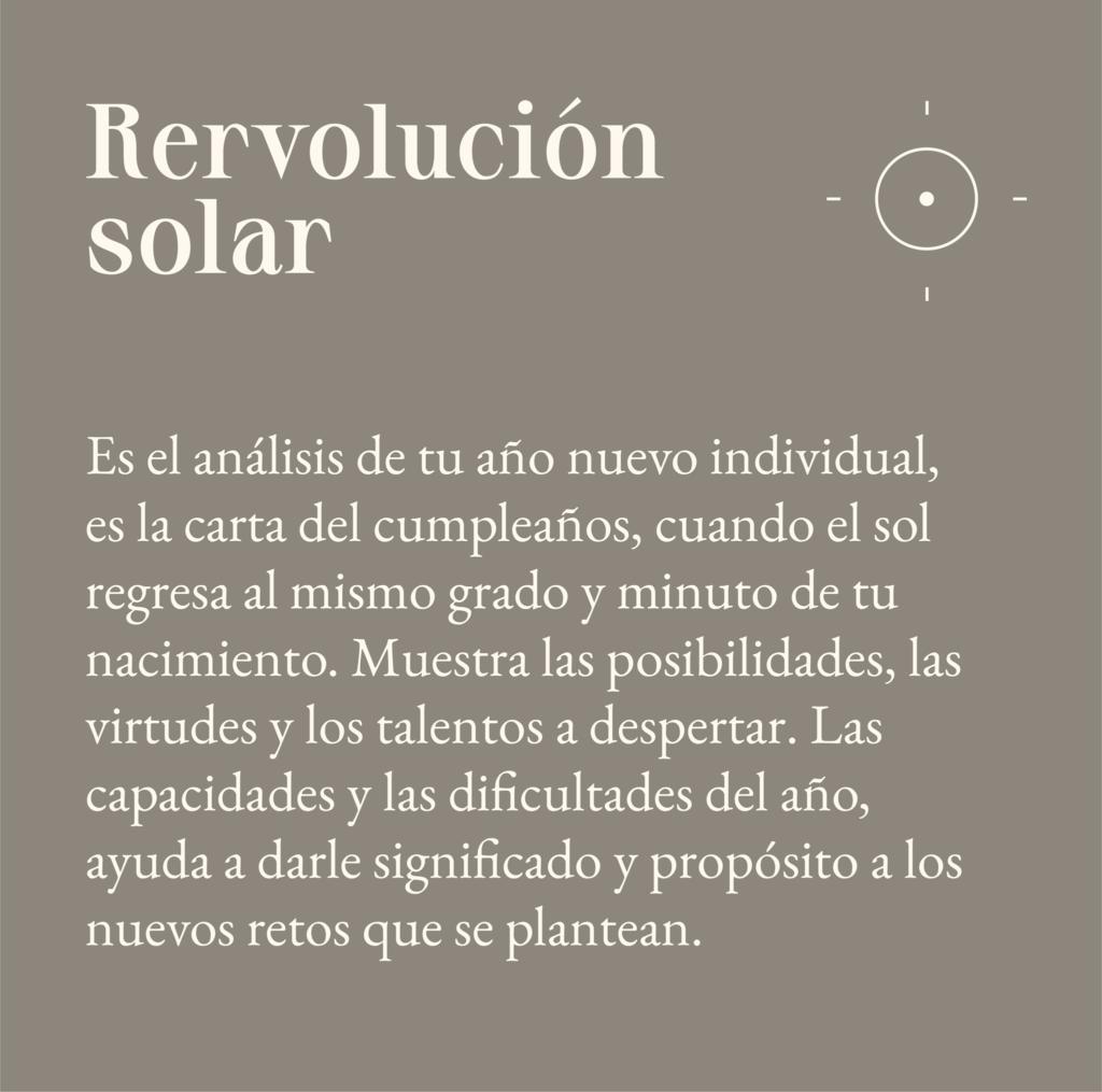 Revolución Solar o Retorno solar